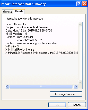 Outlook Express Email Forensics