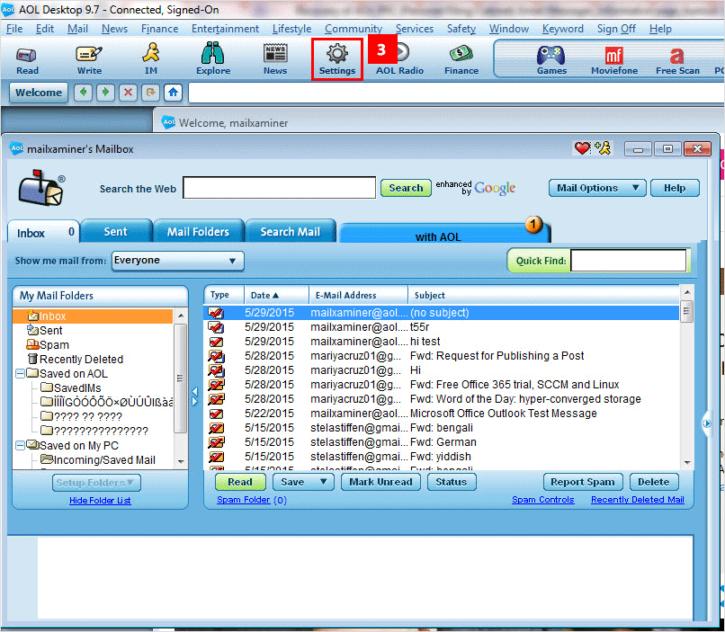 AOL Email Forensics – AOL PFC Forensics Investigation