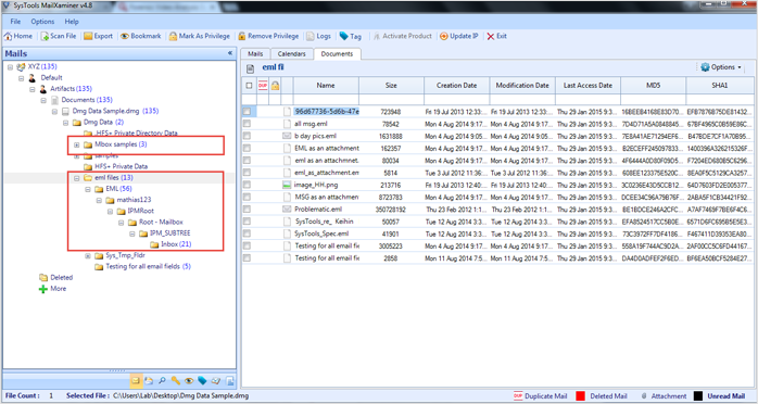 View Embedded Files