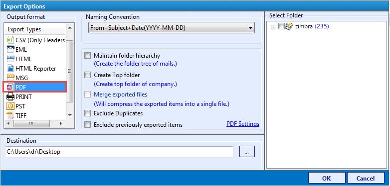 Zimbra Server Database Analysis