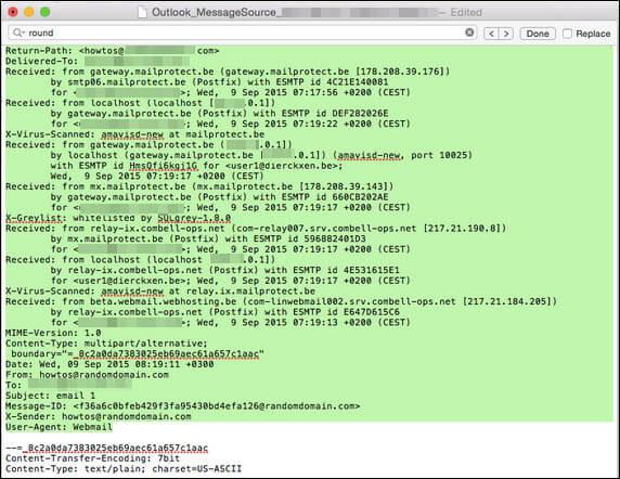 View Source of Mac OLM File