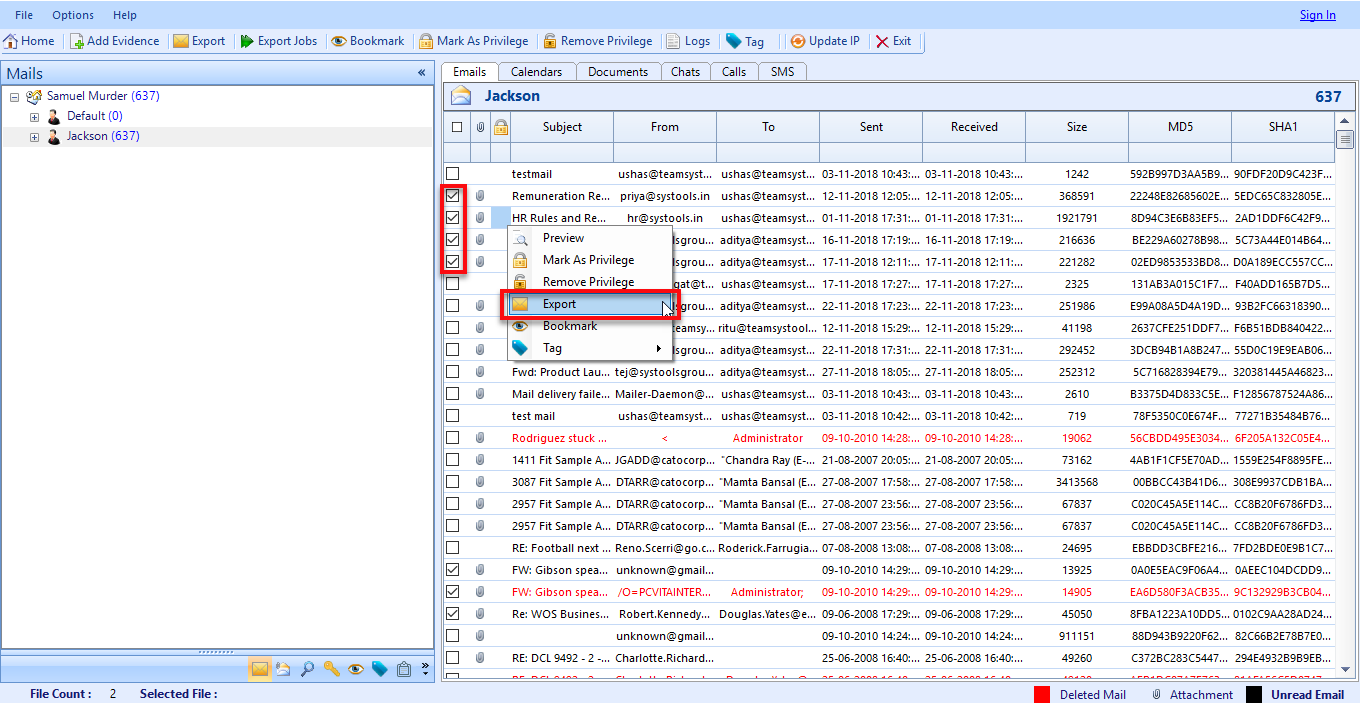 Convert PST Emails & Attachments to TIFF Image File Format