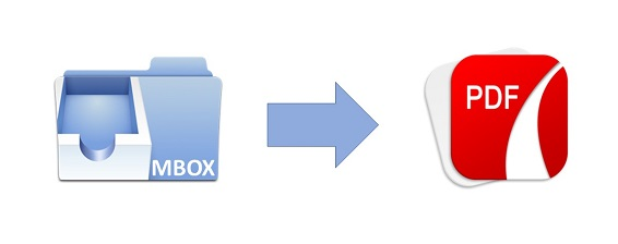 convert mbox emails to pdf