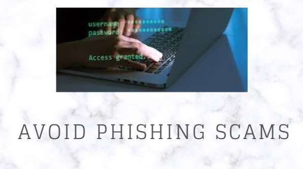 avoid phishing scams