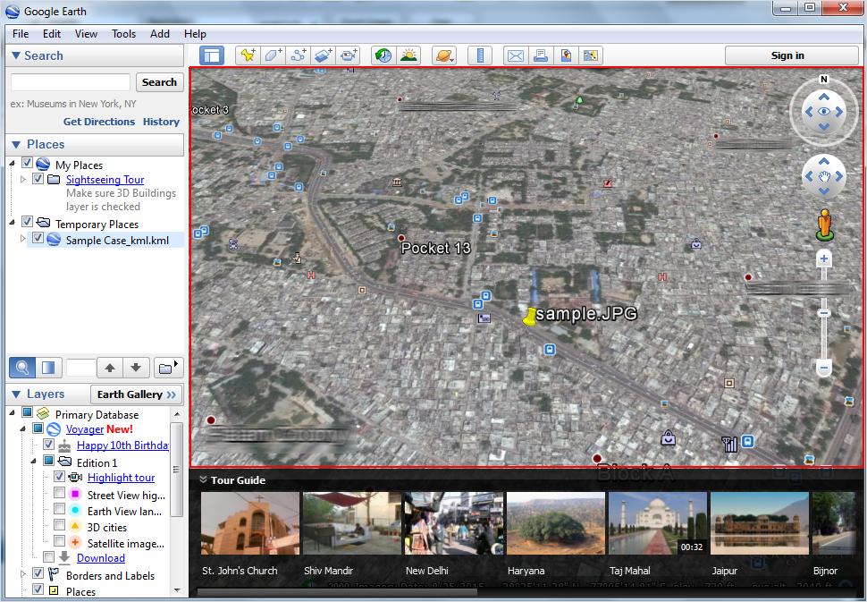 Extract Location
